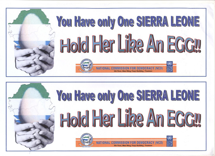 You have only one Sierra Leone