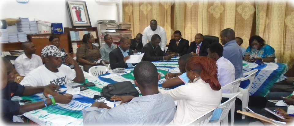 NCD holds meeting with members of Staff at Resource Center